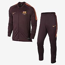 Chandal Jr. Nike F.C.Barcelona Dry Squad Granate S (128-137 CM) 940e8ea60e347