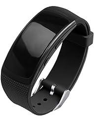 OenFoto kompatibel Gear Fit 2 Pro/Fit 2 Armband, Zubehör Ersatzgurt aus Silikon für Samsung Gear Fit 2 Pro SM-R365 und Gear Fit 2 SM-R360 Smartwatch