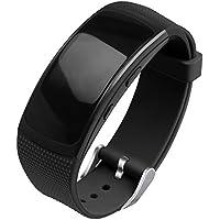 OenFoto Kompatibel Gear Fit 2 Pro/Fit 2 Band, Zubehör Ersatzgurt aus Silikon für Samsung Gear Fit 2 Pro SM-R365 und Gear Fit 2 SM-R360 Smartwatch