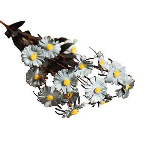 VWTTV15 Kopf Gänseblümchen künstliche Blume gefälschte Blume Gänseblümchen Blume Hochzeitsstrauß Partei Hauptdekoration