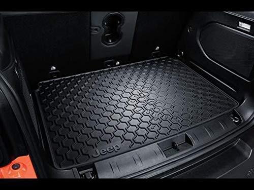 Portaoggetti Bracciolo colore Nero tappetini con logo rosso Jeep Renegade