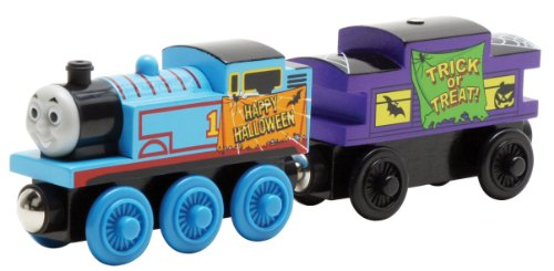 Learning curve wooden Thomas the Tank Engine Halloween Thomas and Caboose (japan (Thomas Tank Halloween The)