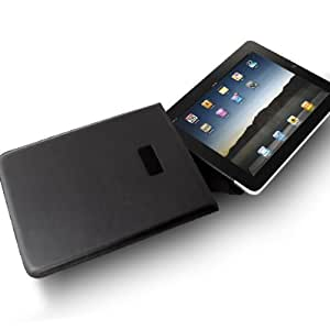 Leather Sleeve Cover Case Apple iPad 1, 2 & 3 -Pouch/Sleeve Style Black
