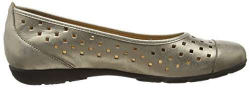GaborRuffle - Ballerine basse donna Oro (Oro (Gold Leather))