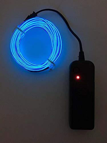 SOUTHSKY Blue EL Wire 5M de vert de néons waterproof conduit intérieur/extérieur des décorations de noël