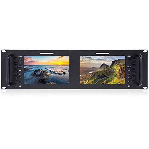 LFTS Rackkamera Monitor Pro Broadcast Dual 7