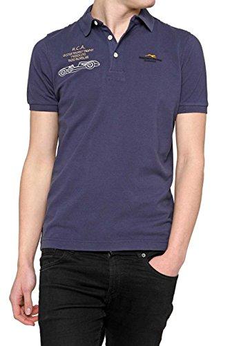 Etiqueta Negra Herren Shirt Poloshirt , Farbe: Dunkelblau, Größe: S