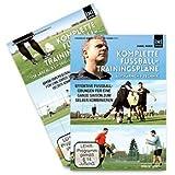 Das komplette Fußball Trainingspläne Paket (Komplettset mit 2 DVD Boxen) Neue Fußballübungen für ein besseres Training