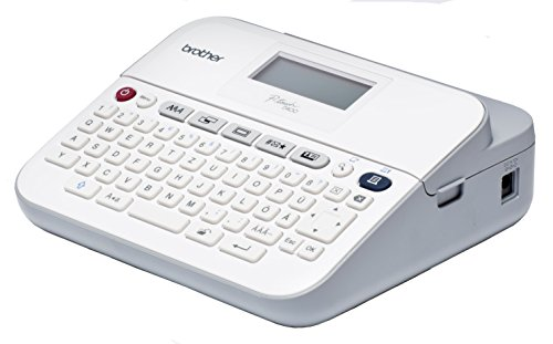 Brother PT-D400VP Beschriftungsgerät (für 3,5 bis 18 mm breite TZe-Schriftbänder, bis zu 20 mm/Sek. Druckgeschwindigkeit)