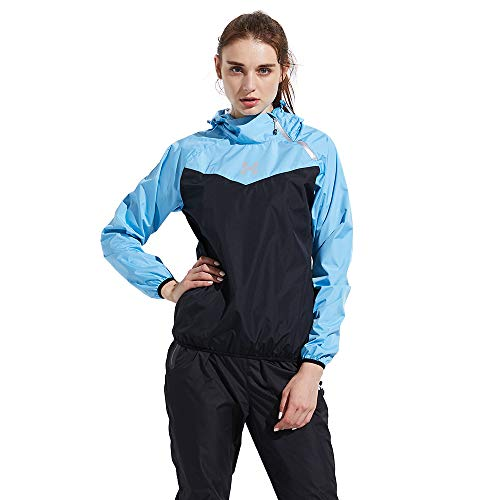 6a8c81f2b3c4 HOTSUIT Tuta Sauna Allenamento Ginnastica Fitness Dimagrimento Donne  (Blue,M)