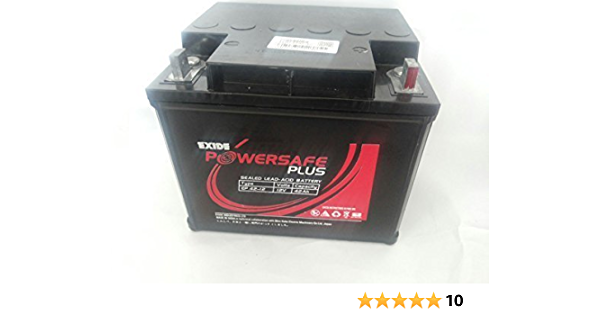 Exide 12v 65ah Powersafe Sealed Battery Ups Solar Amazon In Garden Outdoors