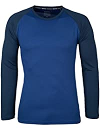 b3ceb35b724c34 Mountain Warehouse Endurance Mens Top – Long Sleeves, Quick Dry T-Shirt,  Highly Breathable Tee,…