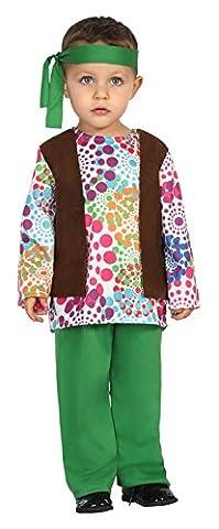 Atosa 24433–Hippie, Costume bébé, 12–24mois