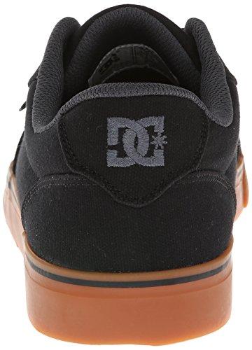 DC Shoes - Anvil Tx, Stringata classica Uomo (nero/gomma)
