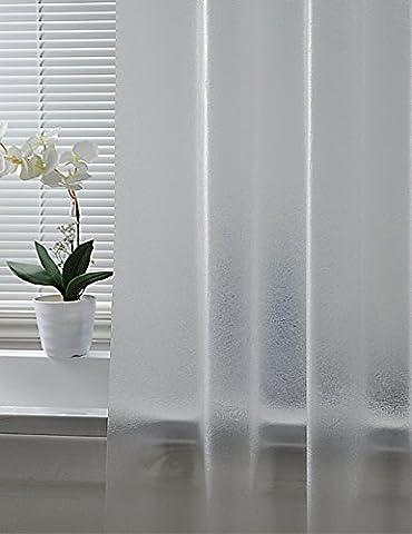 les rideaux de douche de l'art Rideaux de douche étanche Thicker rideaux de salle de bains rideau transparent (une variété de tailles en option) Avec des crochets ( taille : 180*260cm )