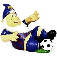 FC Barcelona Oficial resina fútbol Sliding Tackle gnomo de jardín