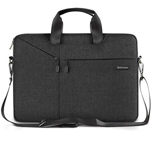 """Red Lemon Hybrid Business 13.3"""" Shock & Waterproof Laptop Bag - (Black, 13.3"""")"""
