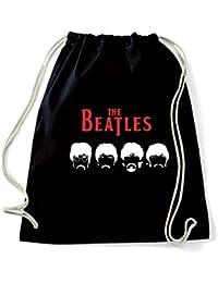 Art Shirt, Rucksack Packsack Beatles Mustache