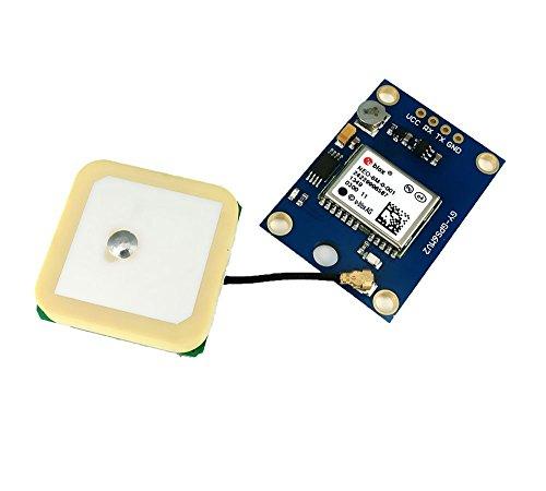 niceeshop(TM) Ublox NEO 6M GPS Modul Aircraft Flight Controller (Blau) Nmea-anzeige