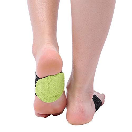 3 pairs Neue Modische Fuß Ferse Schmerzlinderung Plantar Fasciitis Einlegesohle Unterstützung Schuhe Einfügen Pads -