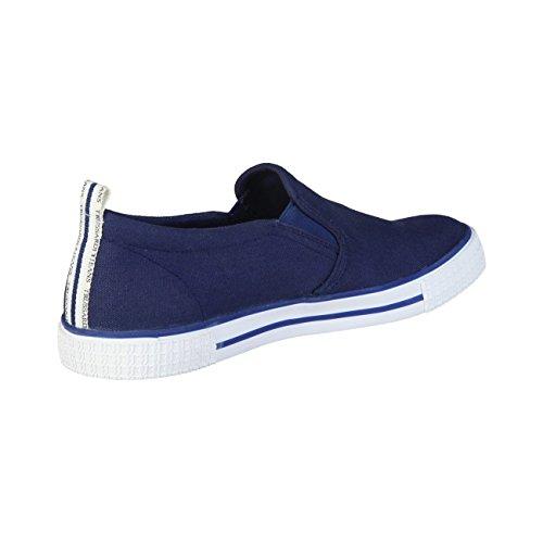 Trussardi Jeans 77S519 Azzurro, Blu e Marrone Mocassini Uomo Scarpa Sportiva Blue