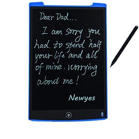 newyes 12-Inch Tablet- de escritura LCD tablero de dibujo Regalos para niños oficina escritura