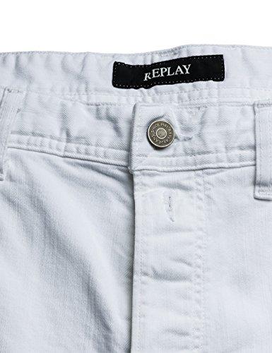Replay Herren Shorts Weiß (White 1)
