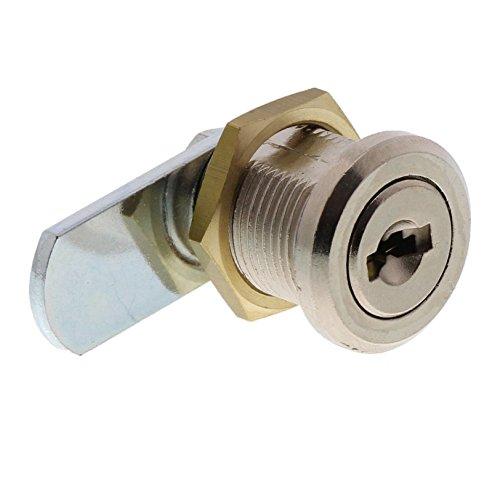 BURG-WÄCHTER Universalzylinder, Hebelschloss, Für Materialstärke von 1 bis 10 mm, vernickelt, ZS 77