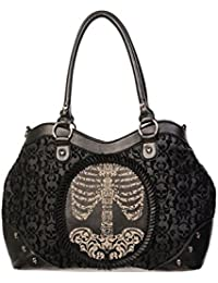 Banned Skeleton Frame Sac (Noir)