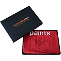 Sportagraphs Kenny Dalglish SIGNED Liverpool Shirt Autograph Gift Box Football New AFTAL COA PERFECT GIFT
