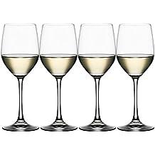 Spiegelau & Nachtmann, 4-teiliges Weißweinglas-Set, Kristallglas, 340 ml, Vino Grande, 4510272