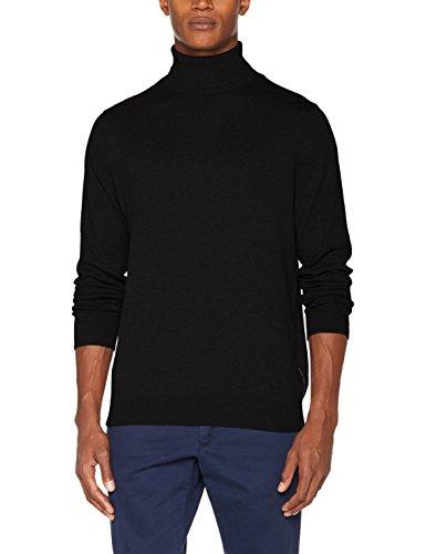 Calvin Klein Ck Jeans (Calvin Klein Jeans Herren Pullover Safet 2 Tn Sweater Ls, Schwarz (CK Black 099), Large)