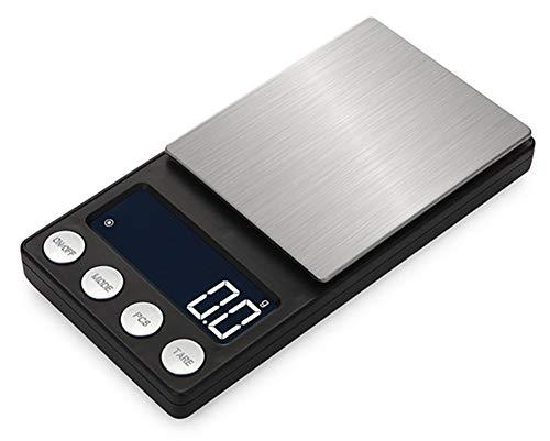 E-KIA Digitale Waage Elektronische Personenwaage,Klein, Vielzahl Von Einheiten Zu Konvertieren,500g/0.1g