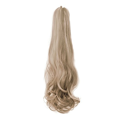 Golden : Ovonni Claw Clip Long Ponytail Curly Hair Synthetic High Temperature Fiber For Women 18
