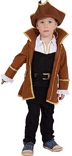 The Neverland Jake Kostüm Piraten - Fancy Me Piratenkostüm für Jungen, Neverland, 7 Seen, Karibik, Weltbuch für Tag und Woche