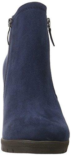 Tamaris 25360, Bottes Classiques Femme Bleu (Navy 805)