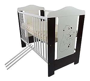 Lit bébé à barreaux Dumbo 120 x 60 cm