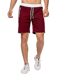 CHYU Pantaloncini Palestra Uomo, Sport e Allenamento Fitness Shorts Jogging Pantaloni Bermuda Uomo