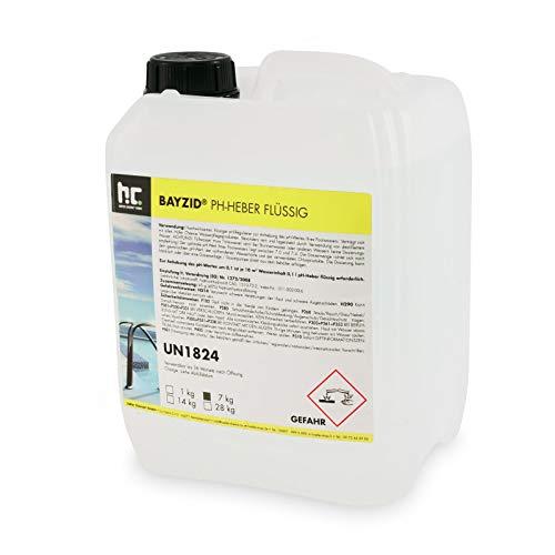 Höfer Chemie 2 x 7 kg pH Heber flüssig - Das Original stabile Wasserwerte und einwandfreie Badequalität im Pool