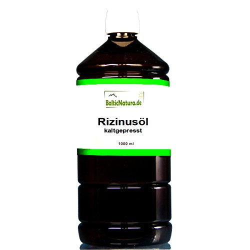 Rizinusöl kaltgepresst (1000 ml) Rizinus Öl kosmet. INCI