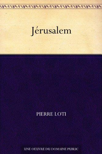 Couverture du livre Jérusalem