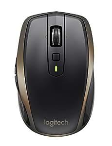Logitech MX Anywhere 2 Mouse Wireless per Windows e Mac con Bluetooth e Unifying, Versione per Amazon, Nero