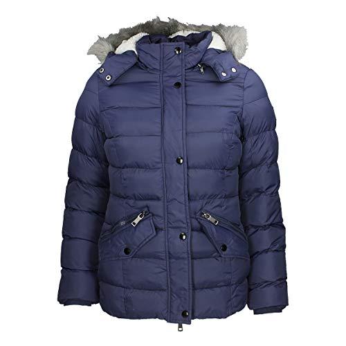 PFIFF 102557 Steppjacke Alessya, Damen Winter Jacke, Reitjacke, Dunkelblau, XL
