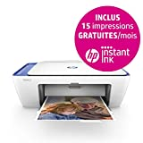 HP Deskjet 3733 Imprimante Multifonction Jet d'encre Couleur (8 ppm, 4800 x...