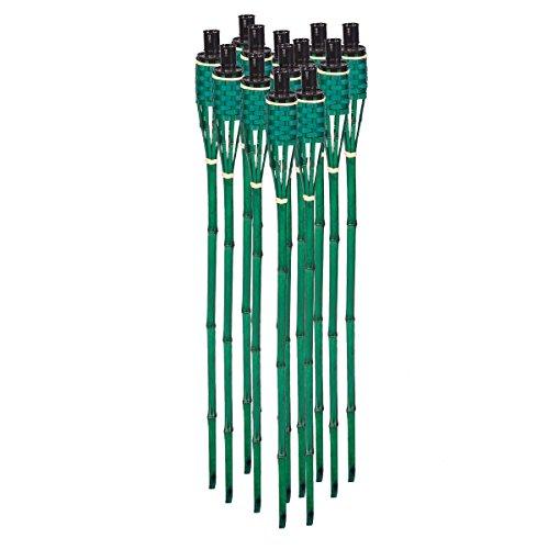 noveste-18-pieces-vert-torche-en-bambou-torche-de-jardin-torche-en-bambou-torche-de-jardin-decoratio
