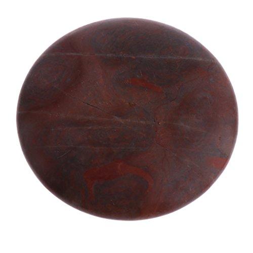Sharplace Basalt Massagesteine / Hot Stone Massage für Körpermassage Rückenmassage Gua Sha Board