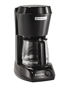Hamilton Beach HDC500C-UK Commercial 4 Cup Filter Coffee Maker, Black