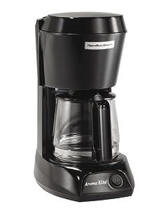 Hamilton Beach HDC500C-UK Commercial 4 Cup Filter Coffee Maker, Black