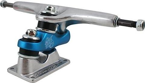 Gullwing Sidewinder II 10.0 Silver/Blue Truck Skateboard Trucks (Set of 2) by Gullwing