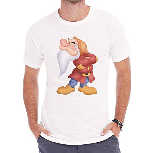 Grumpy Snow White Dwarf One Of Best Herren T-Shirt Weiß